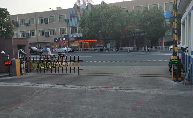 宁波职业高级中学车牌识别系统